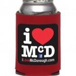 I Love McDonough Koozie