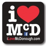 I Love McDonough Magnet
