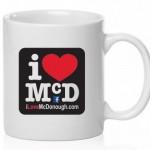 I Love McDonough Coffee Mug